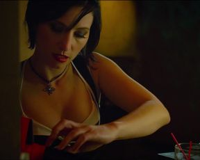 Heather McComb, Arune Kital, Harmoni Everett - Battle Scars (2015) celeb topless scenes