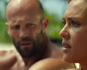 Jessica Alba sexy - Mechanic_Resurrection (2016)
