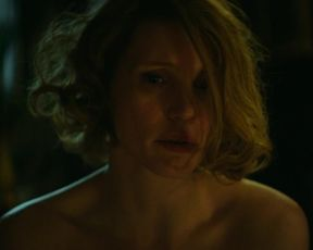 Jessica Chastain - The Zookeeper's Wife (2017) Сut nude scene