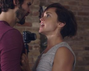 Savannah Welch - The Golden Rut (2016) Naked actress in a TV movie scene