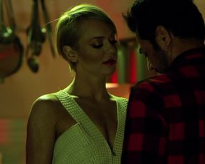 Amanda Barton, Tonya Kay – Amityville Terror (2016) celebs topless scene