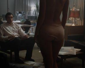 Alexandra Johnston - American Playboy The Hugh Hefner Story s01e05 (2017) Sexy of staging scene.