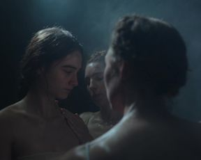 Denise Gough, Raffey Cassidy naked - The Other Lamb (2019)