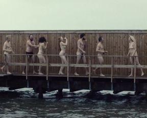Trine Dyrholm, Julie Agnete Vang, Helene Reingaard Neumann - Kollektivet (2016) Nude actress