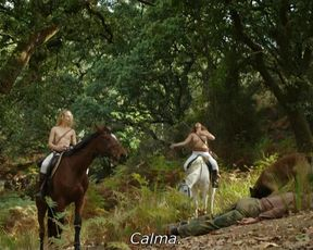Juliane Elting, Flora Bulcao, Isabelle Puntel - O Ornitologo (2016) Nude movie scenes