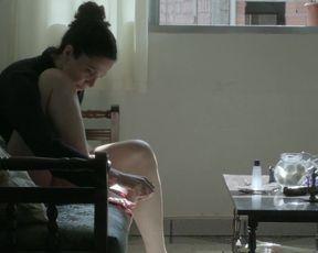 "Sylvia Prado - A Bordo (2015) Nude ""topless"" scene"