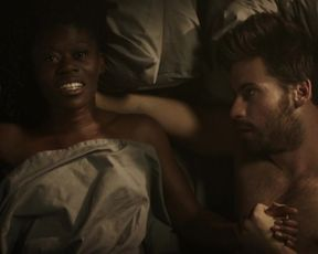 Akiya Henry Nude, Interracial Sex in the movie 'Macbeth'