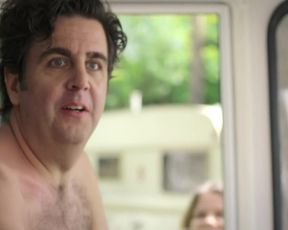 Antje Koch, Birge Schade  Public Nude Scene from TV series 'Pastewka'
