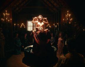 Amara Zaragoza Topless, Cunnilingus, Public Sex in TV Show 'Strange Angel'