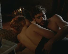 Holliday Grainger - Lady Chatterley's Lover (2015) sexy hot video scene (1)