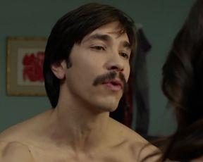 Genesis Rodriguez sexy – Tusk (2014) Underwear Scene