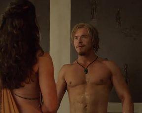 Jenna Lind Nude - Spartacus s03e02 (2013)