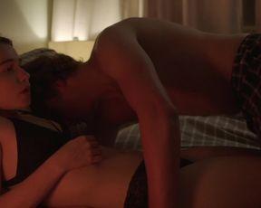 Jessica Barden nude - The New Romantic (2018)