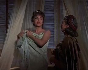Gina Lollobrigida Sexy - Solomon and Sheba (1959)