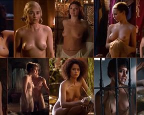 BEST BOOBS OF GAME OF THRONES - Short Simple Video