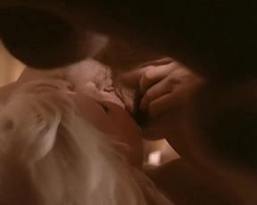 Brigitte Lahaie & Karine Gambier classic porn scene 'Je Suis A Prendre' (old and young)