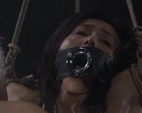 Aya Sugimoto & Misaki Mori, Asian BDSM, Subdual, Bondage sex for Adult Movie 'Hana To Hebi'