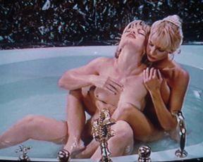 Athena Massey, Rena Riffel, Elena Olanson nude, Big Tits, Topless, Threesome, Classic Erotic