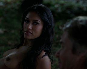Alexandra Breckenridge, Janina Gavankar Topless, Sex Scene in TV Show 'True Blood'