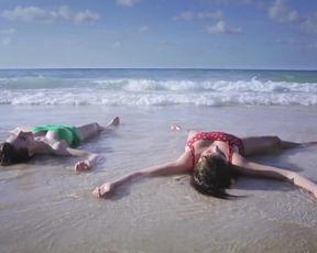 Alexa-Jeanne Dube nude, bikini and topless scene 'Cuba merci, gracias'