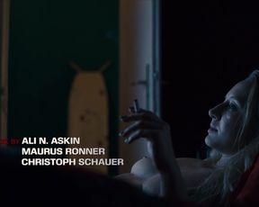 Anna Maria Muhe, Lena Schmidtke nude Sex Scenes for TV shows 'Dogs of Berlin'