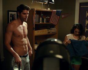 Rachel van Dijk, Ann Pirvu - Total Frat Movie (2016) celeb topless scenes