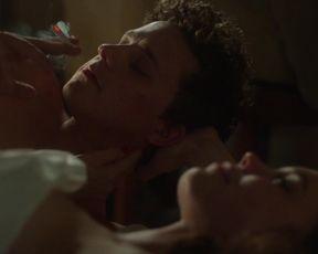 Hedda Stiernstedt, Karin Franz Korlof - Var Tid Ar Nu s01e01-e03 (2017) Naked film scenes.