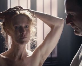 """Esther Schweins - Sie hatten keine Wahl The Victory of Women (2018) Naked actress in a """"topless"""" scene"""