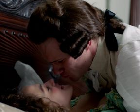 Jessica Brown Findlay - Harlots s01e01 (2017) Naked sexy video