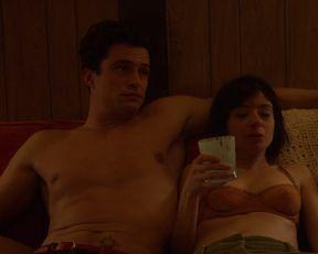 Malin Akerman, Kate Micucci - Easy s01e06 (2016) Hot celebs scene