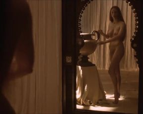 Hot actress Tilda Swinton Nude - Orlando (1993)