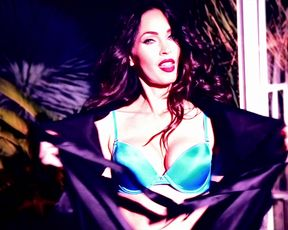 Sexy Megan Fox - Magazine 2017 TV show scenes