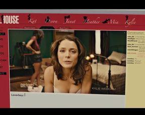 Sexy Ali Cobrin nude celebrity scenes - Girlhouse (2014)