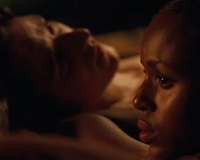 Hot scene Kerry Washington sex scene – The Last King of Scotland (2006)