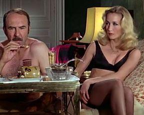 Retro sex video Brigitte Fossey & Sylvie Matton - Calmos (1976)