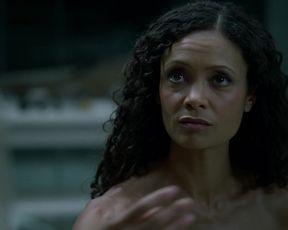 Hot scene Thandie Newton - Westworld S01E06 (2016)