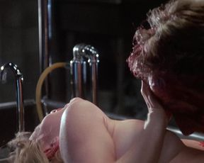 Barbara Crampton nude - Re-Animator (1985)