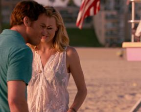 Hot celebs video Yvonne Strahovski - Dexter S7 (2013)