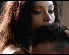 Explicit sex scene Leah Gibson - Rogue (2013) Adult video from the movie