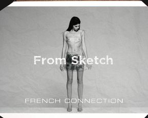 Naked scenes French Connection AW13 Campaign Teaser - Georgia