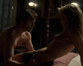 Naked scene Anna Paquin - True Blood S02 E01 (2009) TV show nudity video