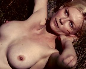 Kirsten Dunst from Melancholy (Short & Gif)