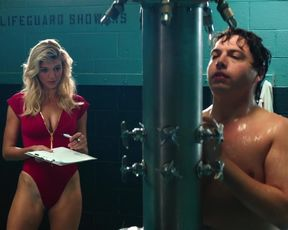 Alexandra Daddario, Kelly Rohrbach Celebrity Scene- Baywatch (2017)