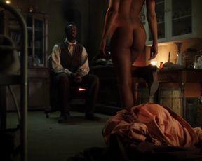 TV show scene Tessa Thompson Nude - Copper (2013) s02e02
