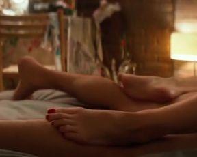 Sexy Heather Graham Nude, Angela Kinsey Nude - Half Magic (2018)