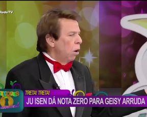 TV show scene Anus in Brazilian TV show