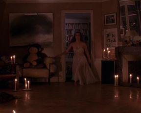 Hot celebs video Emmanuelle Seigner naked actress and milk - Bitter Moon [1992]