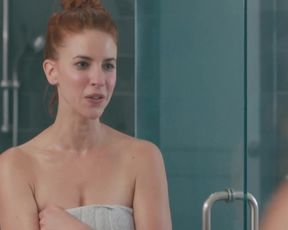 TV show scene Dani Kind Nude - Workin' Moms s01e05 (2017)