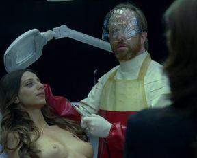 Angela Sarafyan sexy hot - Westworld (2016)