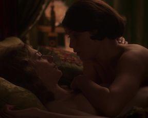 Elizabeth Debicki, Gemma Arterton - Vita _ Virginia (2018) sexy hot scene